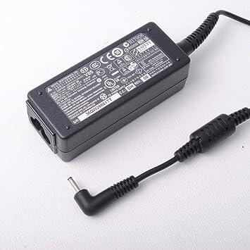 Delta Notebook ordenador portátil de alimentación de CA Adaptador de cargador para 40W Asus Eee PC 1005HA 1005 1005P 1005PR 1005PX 1005PEG 1005H ...