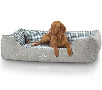 Knuffelwuff 13988 – 002 terciopelo cama para perros, perro almohada, sofá, perros perro