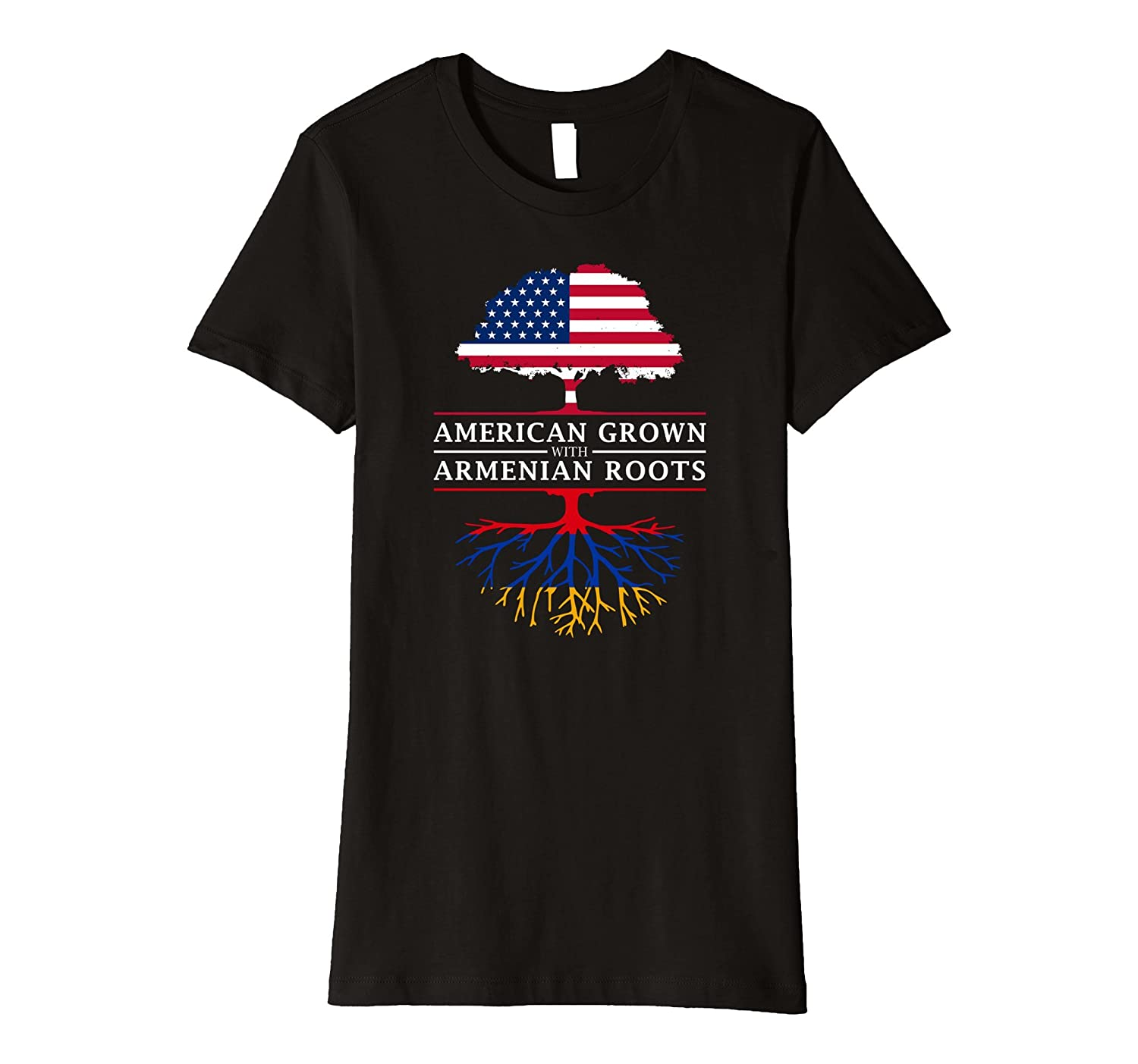 American Grown with Armenian Roots T-Shirt