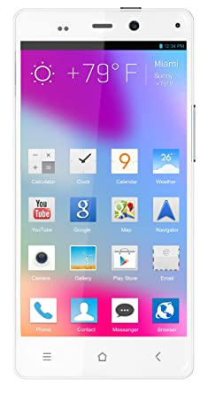 BLU Life Pure Unlocked Phone 32GB ROM, 2GB RAM (White)