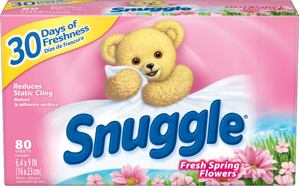 Amazon snuggle fabric softener dryer sheets spring fresh amazon snuggle fabric softener dryer sheets spring fresh flowers 80 count health personal care mightylinksfo