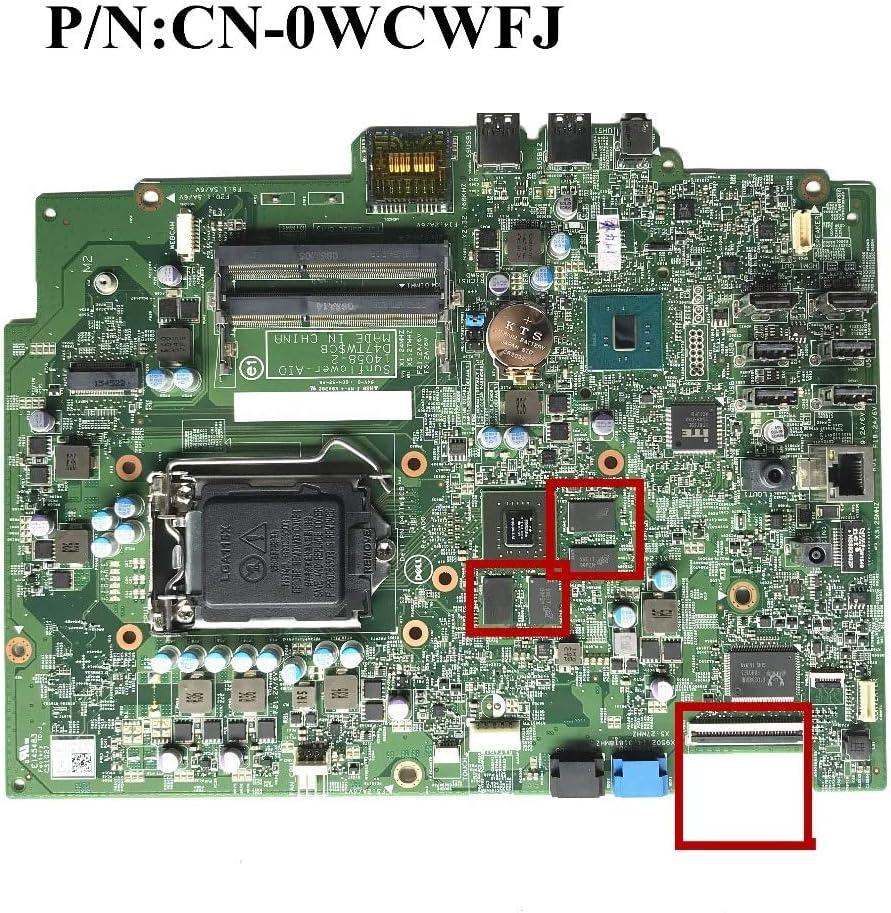 Excellent 23.8 for Dell Inspiron 24 5459 545 Laptop Motherboard CN-0WCWFJ 0WCWFJ WCWFJ 14058-2 100/% Working