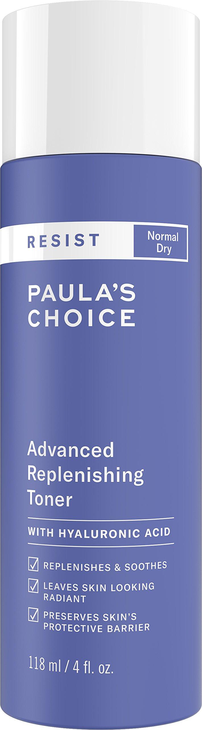 Paula's Choice-RESIST Advanced Replenishing Anti-Aging Toner, 4 Ounce Bottle, with Vitamins C & E by PAULA'S CHOICE