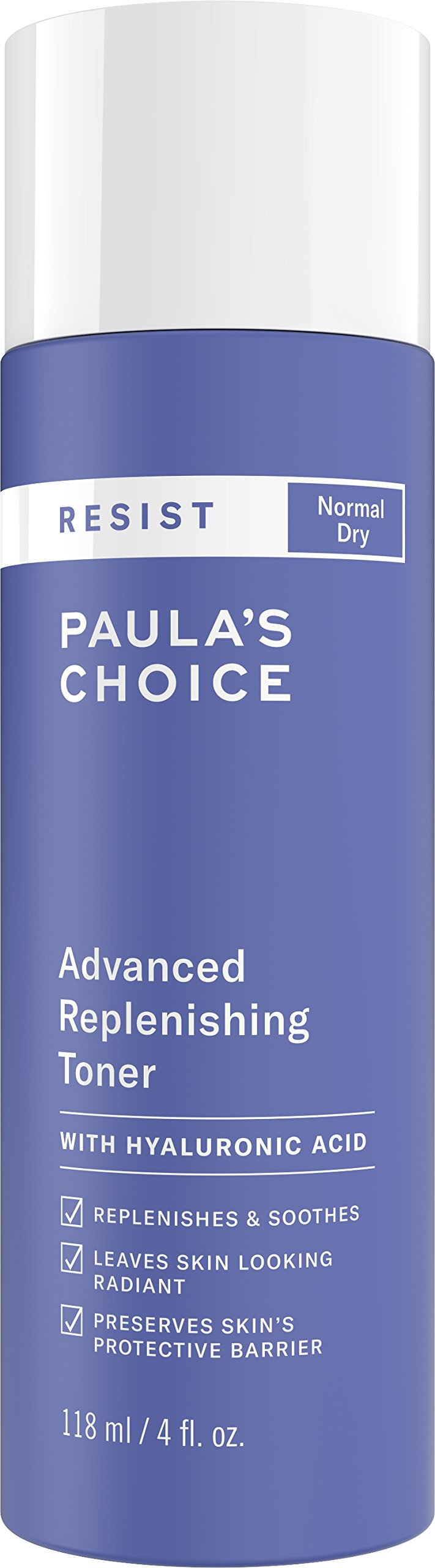 Paula's Choice-RESIST Advanced Replenishing Anti-Aging Toner, 4 Ounce Bottle, with Vitamins C & E