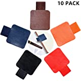 10 Pack Pen Loop Holder Adhesive with Elastic Band for Notebook, Journals, Clipboards