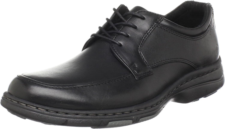 Hamilton Leather Moc-Toe Oxford Shoes
