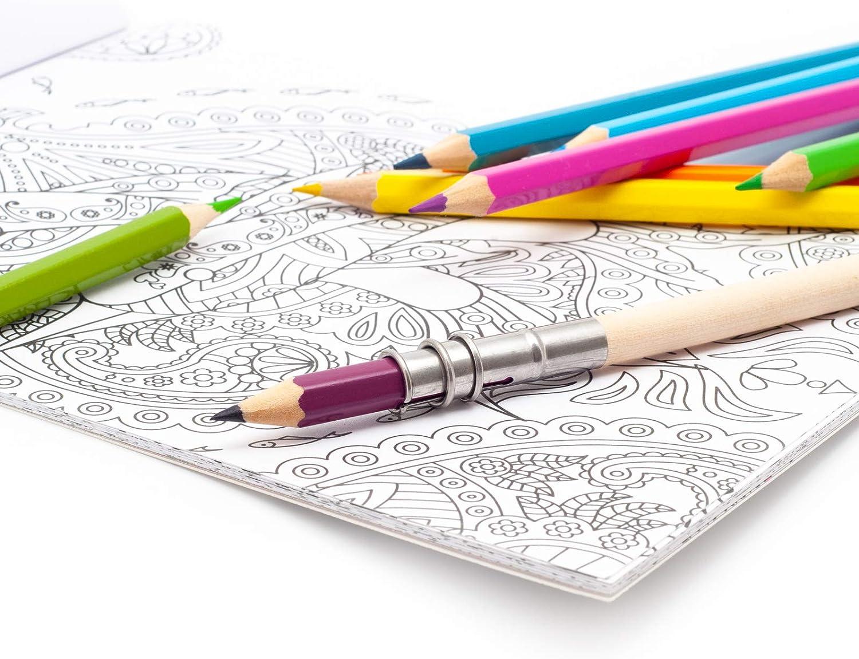 Buntstifte im Rolletui auf wässriger Basis Malbuch 72 Stücke zum...