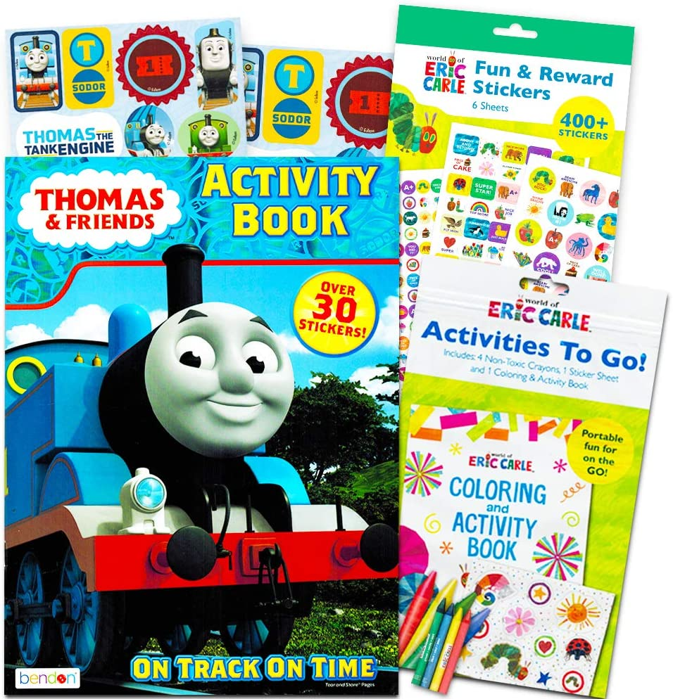 - Amazon.com: Thomas The Train Coloring And Activity Book Set With
