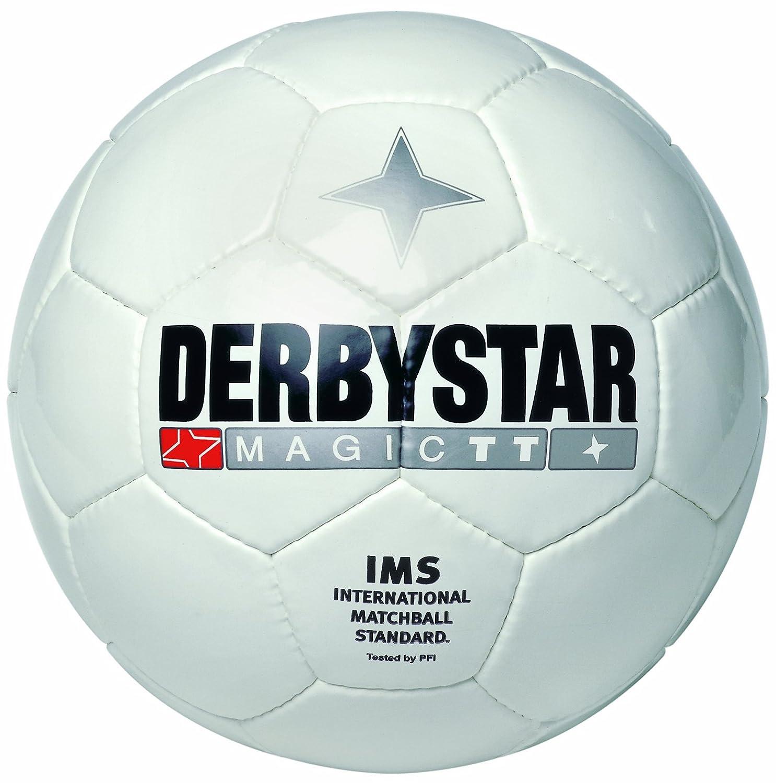 Derbystar Magic TT - Balón de fútbol, color blanco, talla 5 ...