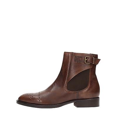 Cuir Brun Femme Boot 37 Desert Docksteps Dse102767 qwxRfX