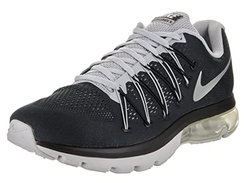 reputable site 6511b f9774 Nike Men s Air Max Excellerate 5 Black Metallic Silver Running Shoe 8.5 Men  US