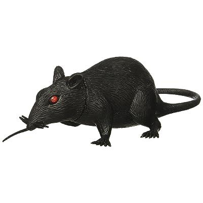 "Forum Novelties 6"" Plastic Rat w/Squeaky Sound (Qty 1): Pet Supplies"