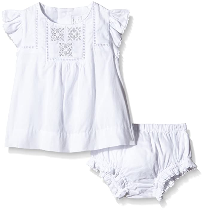 Neck & Neck Tejido, Conjunto de Ropa Interior Bebe, White Optical / Blanco Optico