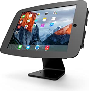 Maclocks 303B290SENB Secure Space Enclosure Kiosk with 360 Degree Rotation for iPad Pro 12.9 (Black )