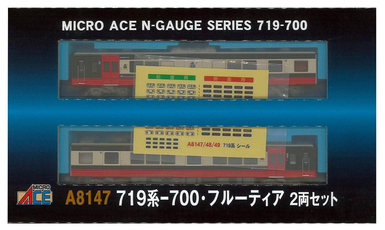 マイクロエース Nゲージ 719系-700フルーティア 2両セット A8147 鉄道模型 電車 B079X5PSRS
