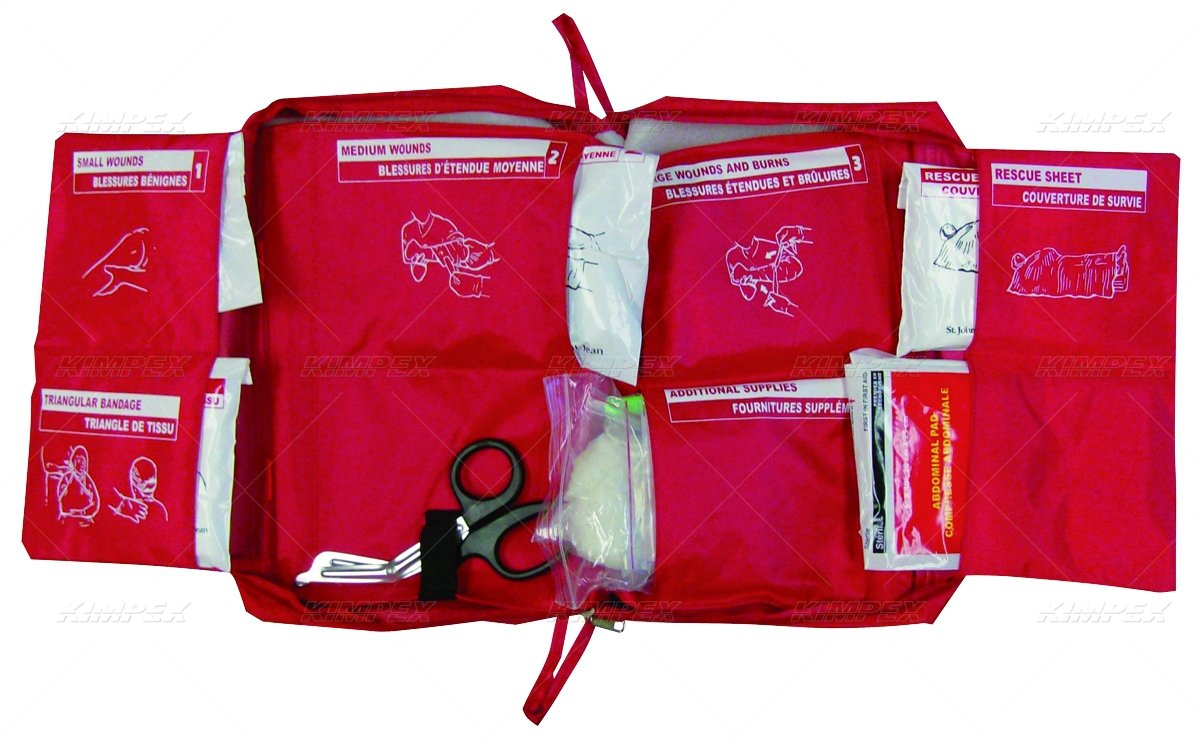Fox40 7902-0101 FOX 40 FIRST AID KIT, DELUXE