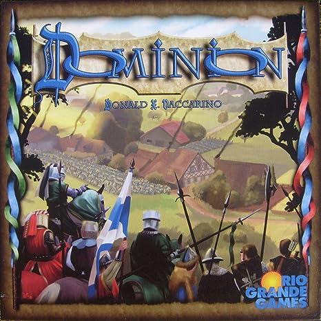 Rio Grande Games - Juego de Mesa, para 4 Jugadores (RIO370) (Importado de Alemania): Dominion: Amazon.es: Juguetes y juegos