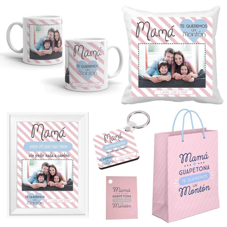 Regalo Original Madre/Pack Personalizado con Foto/Incluye ...