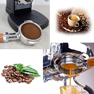 58mm Cafe Bottomless Handle Coffee Machine Bar Filter Basket Replacement Parts