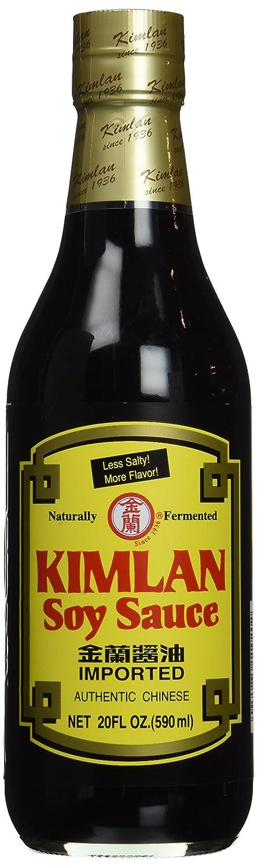 Kimlan soy sauce - less salty