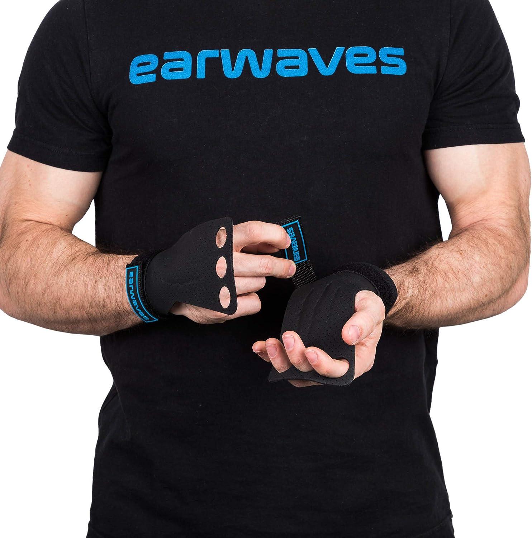 Dominadas Pull ups Anillas Calleras Crossfit para Hombre y Mujer Earwaves /® Predator Grips 2 /& 3 Agujeros etc. Ideales para Gimn/ásticos Calistenia Muscle ups Barra