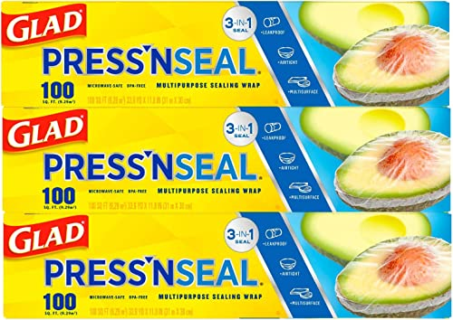 Glad® Press'n Seal® Plastic Food Wrap
