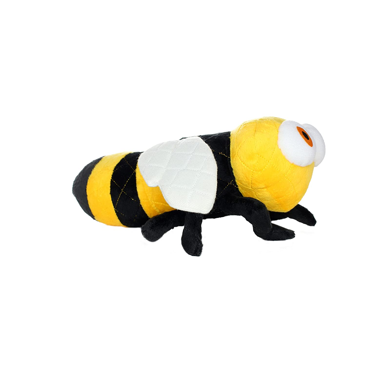 Tuffy's Dog Toys DTU90687 Mighty Bugs Bee Pet Toy