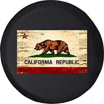 Spare Tire Cover American Brown Bear Full Moon Wrangler RV