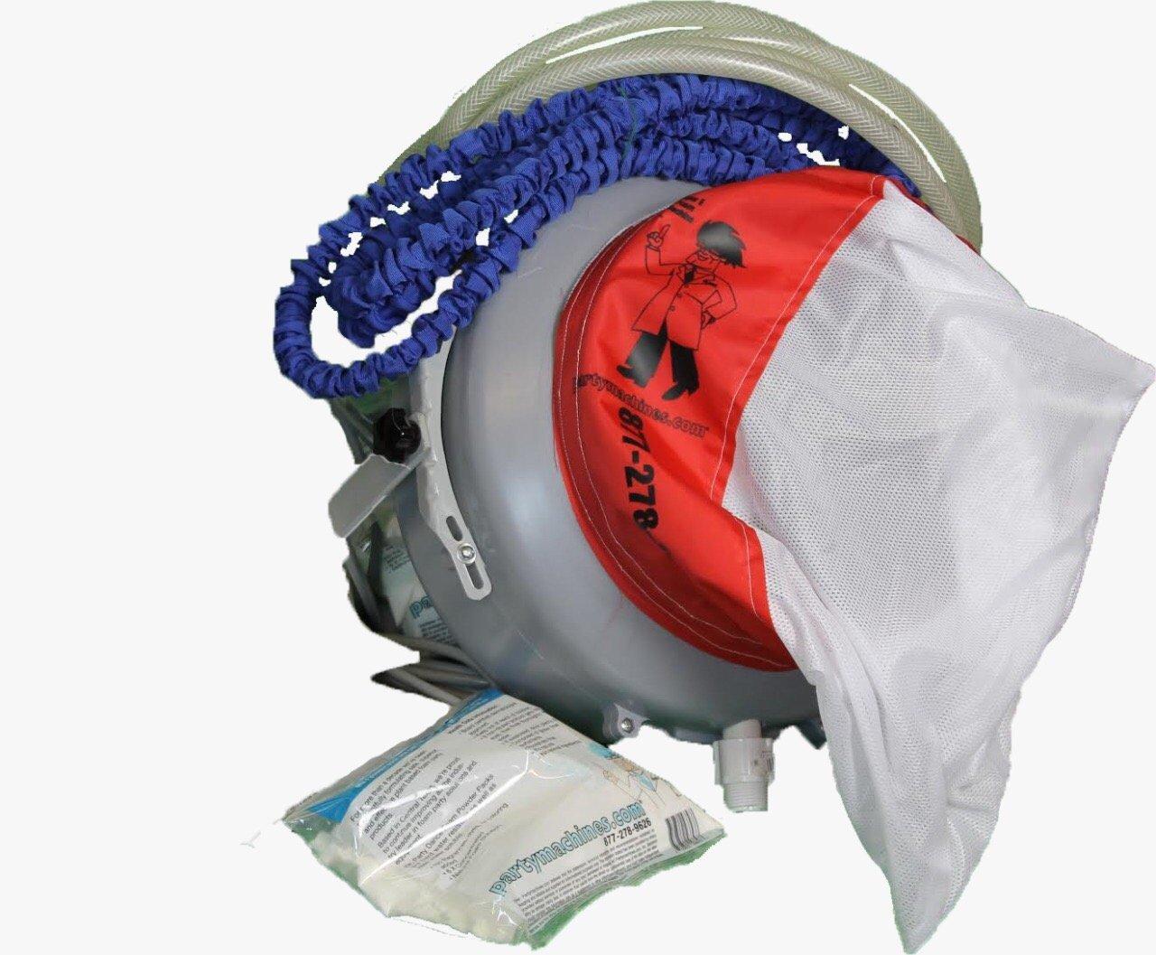 Foam Party Super E Foam Machine with Siphon, hoses, & Foam Powder Pack