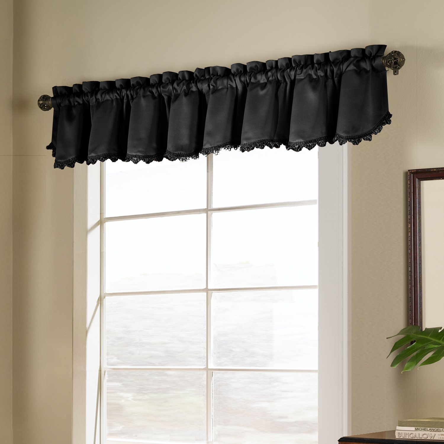 curtain house ascot decorate beaded rod darkening curtains room valance beautiful pocket with dana the