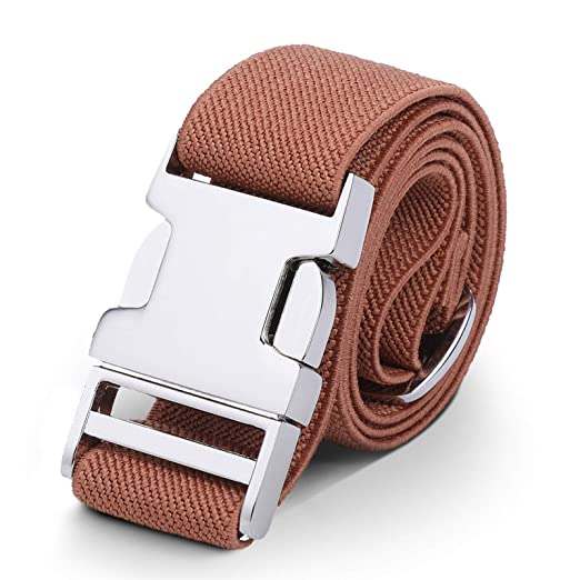 59c7bf4814b Kids Toddler Belt Elastic Adjustable Stretch for Boys Girls Belts with Easy  Zinc Alloy Buckle by