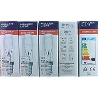 5 stuks vervangende lamp afzuigkap 40 watt E14 helder lamp 240V 380 lumen 2700K warm wit