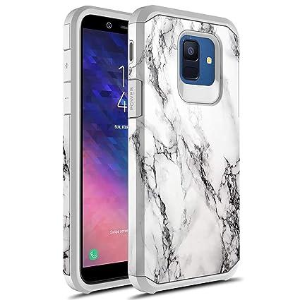 Amazon.com: Rosebono - Carcasa rígida para Samsung Galaxy A6 ...