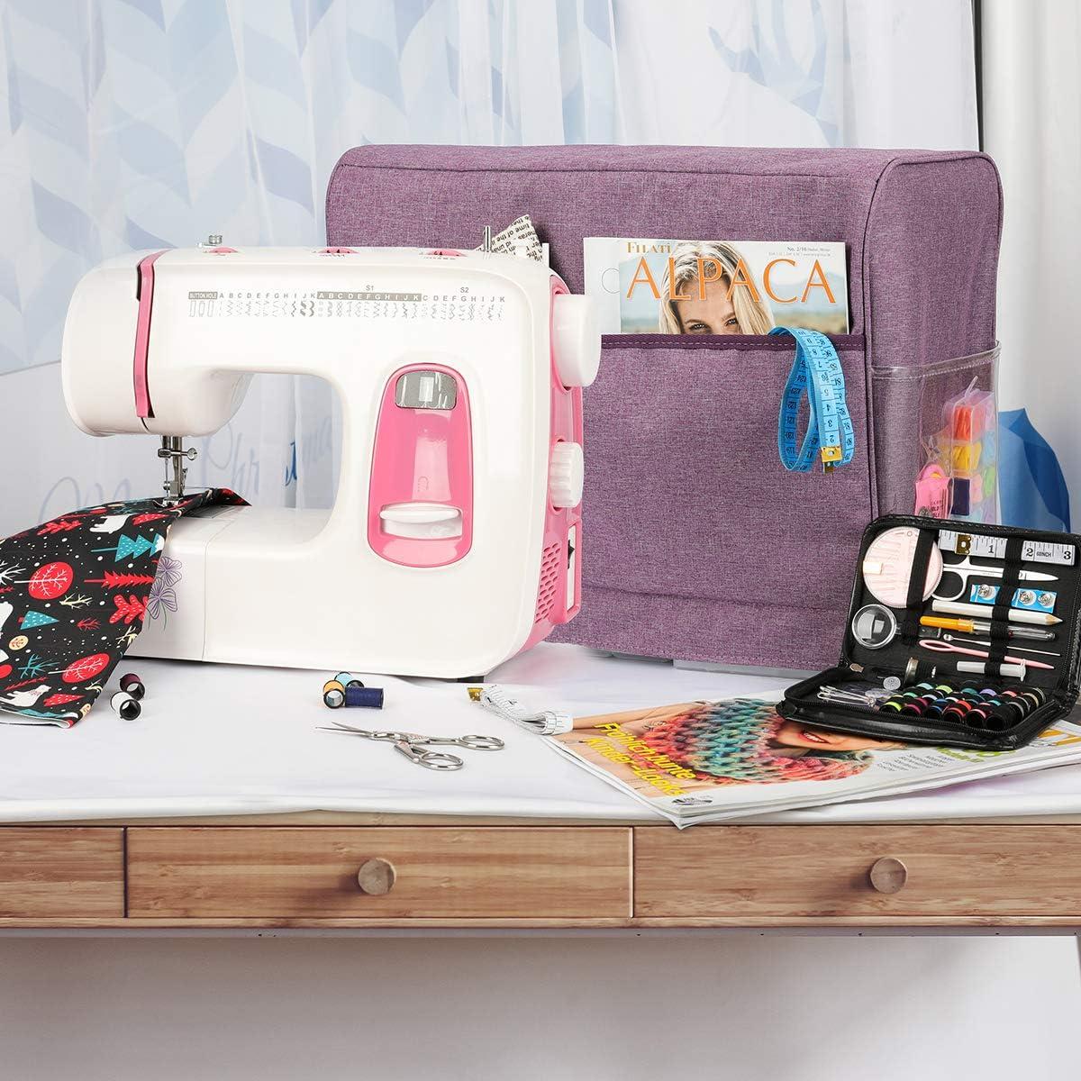 TopHGC - Funda protectora para máquina de coser, fácil de guardar ...