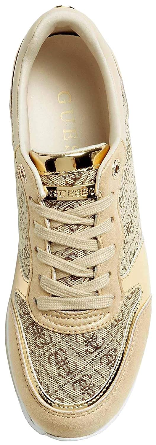 Guess Hinders Logo Beibr Womens Platform Trainers: Amazon.it