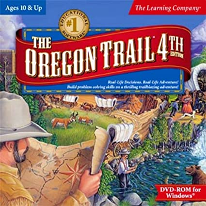 amazon com learning company oregon trail 4th edition toys games