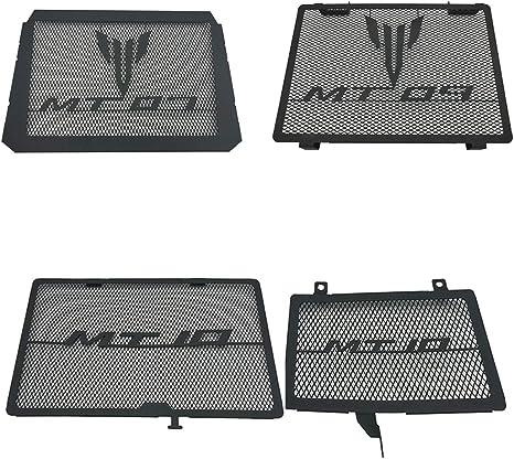 MT-09 Tracer 2015-2020 LongGreat en Acier Inoxydable Refroidisseur deau R/éservoir Radiateur de Moto Grille Garde Protection Couverture pour Yamaha MT09 FZ-09 2014-2020