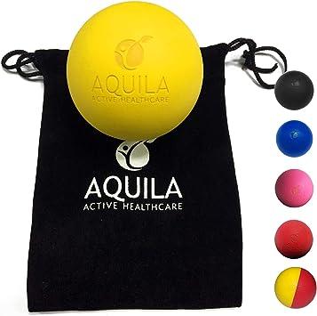 AQUILA ACTIVE Pelota Lacrosse para Masaje - Rehabilitacion ...