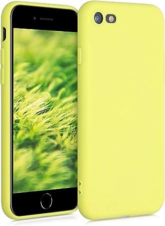 Kwmobile Hülle Kompatibel Mit Apple Iphone 7 8 Se 2020 Handyhülle Handy Case In Pastellgelb Matt Elektronik