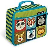 "Crocodile Creek Eco Kids Backyard Friends Insulated Lunch Box with Handle, 9.5&Quot Jungle Jamboree 9.5"""