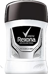 Rexona Men Antiperspirant Stick Invisible Dry, 52g