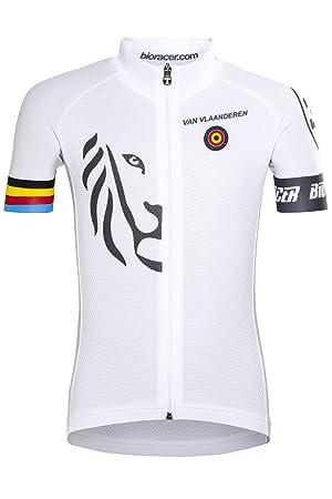 Bioracer Van Vlaanderen Pro Race Bike Jersey Shortsleeve Children white  Childrens sizes 128 2019 Short Sleeve 8aefeff75