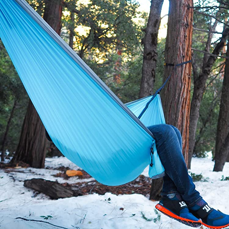 Wise Owl Outfitters Hammock for Camping Single & Double Hammocks Gear For The Outdoors Backpacking Survival or Travel