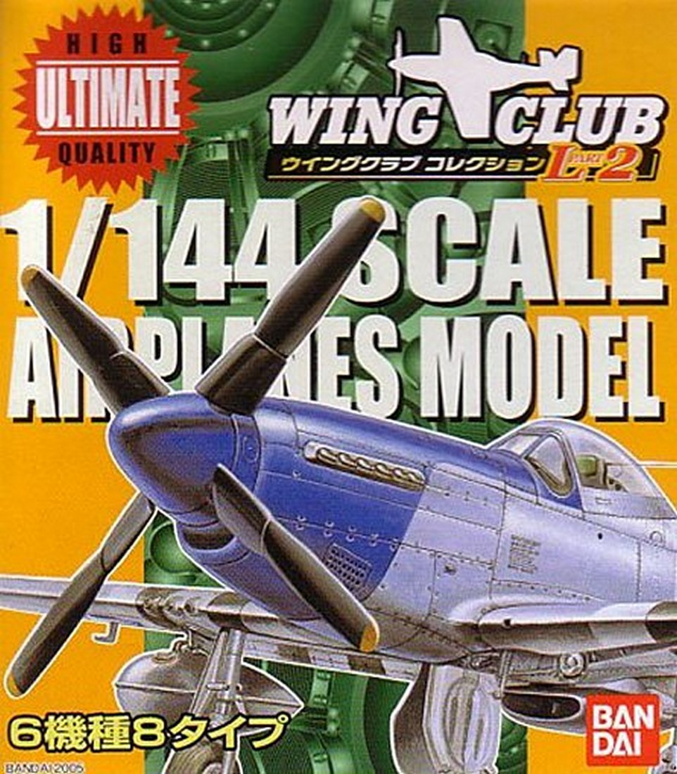 Wing Club L Part 2 Airplanes Model-1:144 Scale Random Model