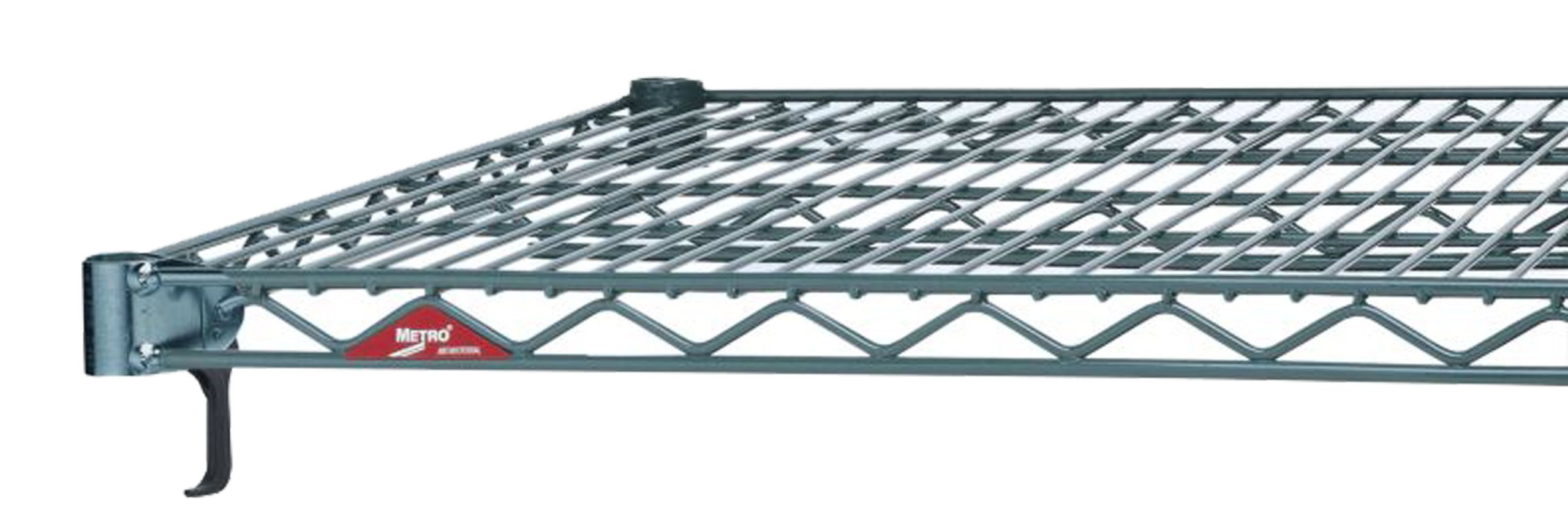 Metro A2436NK3 Super Adjustable Metroseal 3, Steel Wire Shelf with Microban, 800 lb. Capacity, 1'' Height x 36'' Width x 24'' Depth (Pack of 4)
