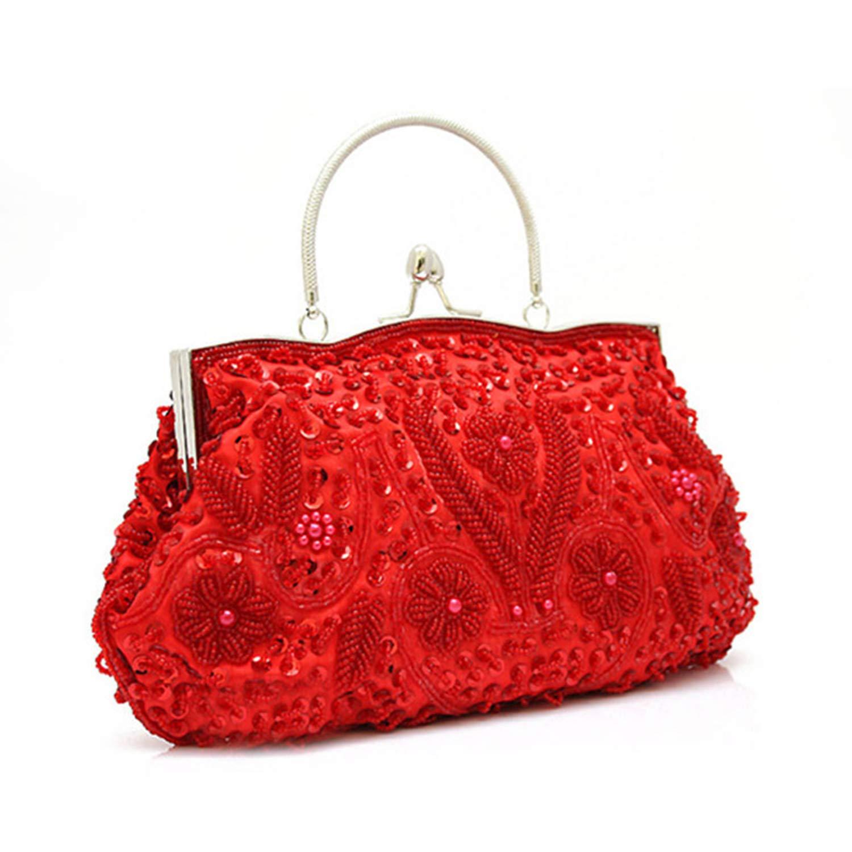 Amazon.com: Bolsas de embrague para mujer, exquisitas ...