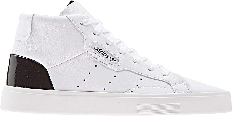 adidas Originals Sleek Mid W Baskets Mode Femmes BlancNoir