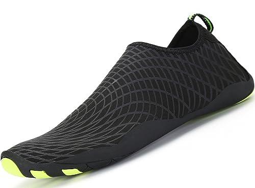 SAGUARO Barefoot agua piel zapatos Aqua calcetines para playa nadar Surf  Yoga 05b319ff170