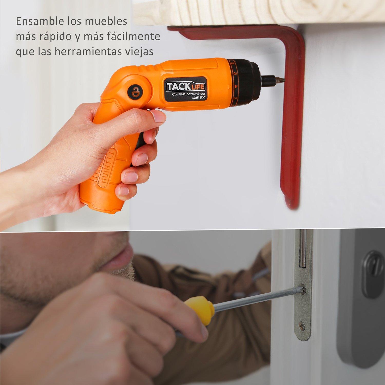 destornillador eléctrico tacklife