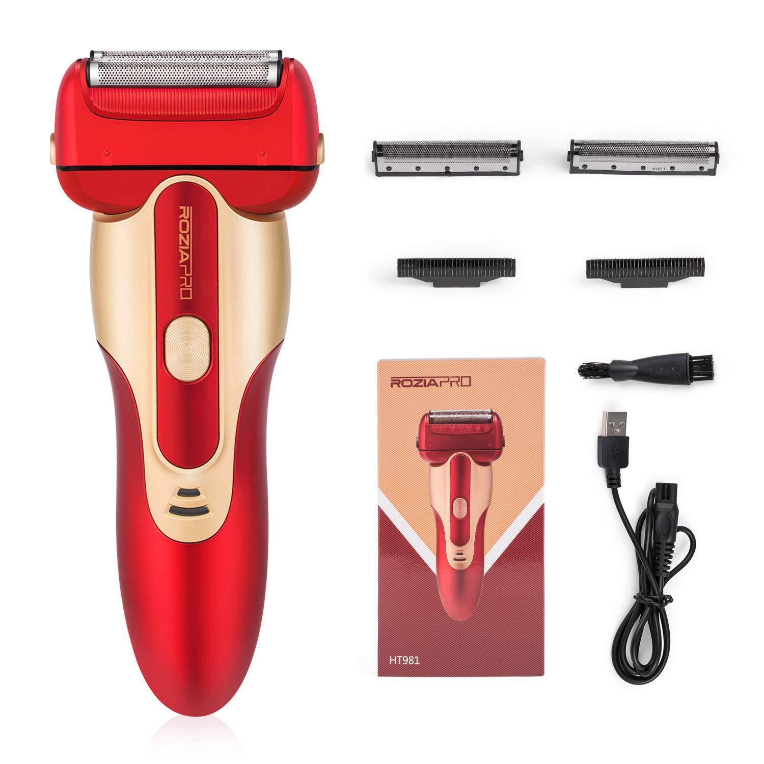 Rozia Rechargeable Electric Razor for Men